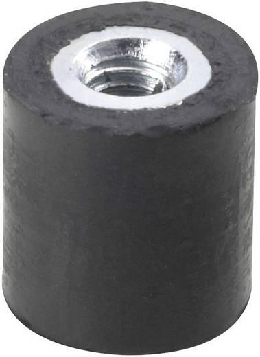 PB Fastener menetes rezgéscsillapító, fekete, 122615