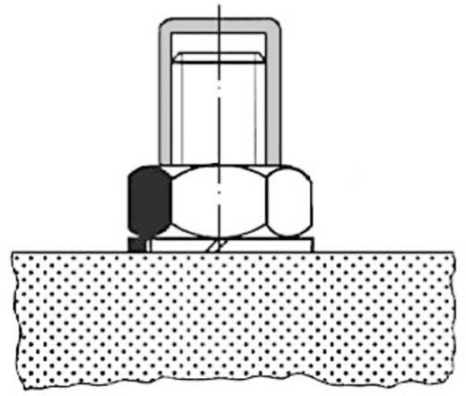PB Fastener Védősapka 062 0130 000 03 Natúr Maße (A x B x C) 12.7 x 14.9 x 13.5 mm
