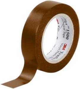 PVC elektromos szigetelőszalag, 10 m x 15 mm, barna, 3M Temflex 1500 3M