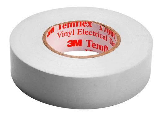 PVC elektromos szigetelőszalag, 10 m x 15 mm, fehér, 3M Temflex 1500