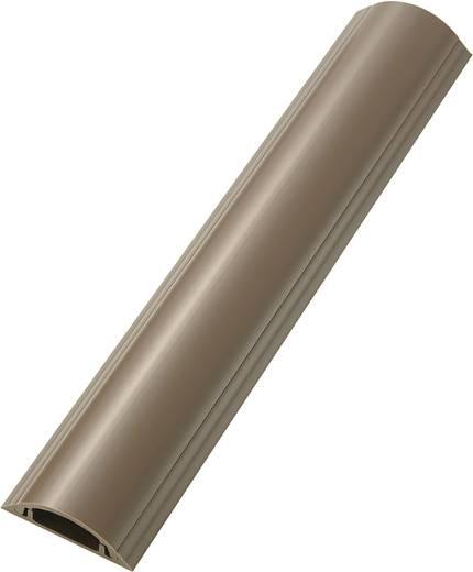 Merev kábelhíd, öntapadó (H x Sz x Ma) 100 x 3.85 x 1.15 cm Barna KSS Tartalom: 1 db