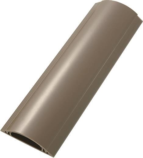 Merev kábelhíd, öntapadó (H x Sz x Ma) 100 x 7 x 1.7 cm Barna KSS Tartalom: 1 db