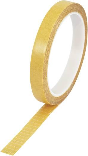 Kétoldalas filament ragasztószalag (H x Sz) 10 m x 12.7 mm átlátszó 9027-125/10M Conrad, tartalom: 1 tekercs