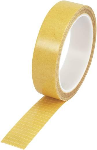 Kétoldalas filament ragasztószalag (H x Sz) 10 m x 25 mm átlátszó 9027-250/10M Conrad, tartalom: 1 tekercs