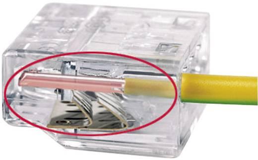 Vezetékösszekötő ATT.CALC.CROSS_SECTION_RIGID: 0.5-2.5 mm² pólusszám: 2 HellermannTyton HECP-2 1 db Sárga