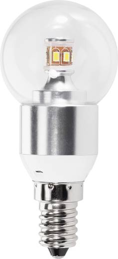 LED 92 mm Renkforce 230 V E14 3.6 W = 25 W Csepp forma, tartalom: 1 db, 8632c62a