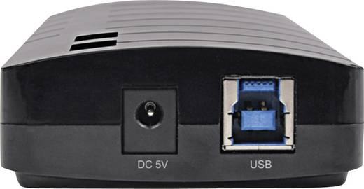 7 portos USB hub tápegységgel, 3.0, Conrad