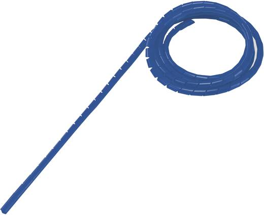 Spiráltömlő, tekercsben, köteg Ø: 2 - 25 mm, kék WB-0203 Conrad, tartalom: 5 m