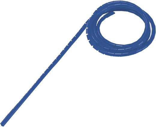Spiráltömlő, tekercsben, köteg Ø: 9 - 65 mm, kék WB-1012 Conrad, tartalom: 5 m