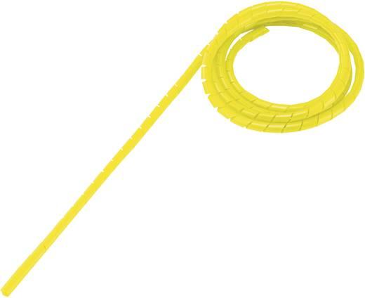 Spiráltömlő, tekercsben, köteg Ø: 4 - 50 mm, sárga WB-0506 Conrad, tartalom: 5 m