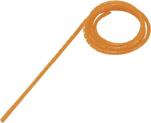 Spiráltömlő, tekercsben, narancs WB-1012 Conrad, tartalom: 5 m