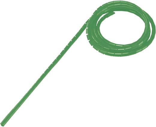 Spiráltömlő, tekercsben, köteg Ø: 9 - 65 mm, zöld WB-1012 Tru Components, tartalom: 5 m