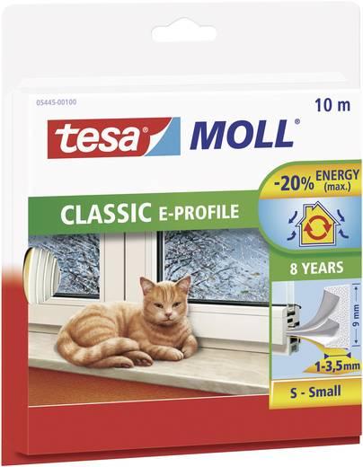 E profilú ablak szigetelő gumi, fehér, 10 m x 9 mm, tesamoll TESA 1 tekercs