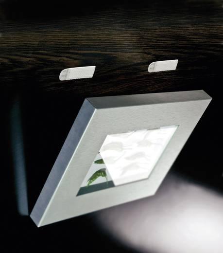 Tépőzár Felragasztáshoz Bolyhos és horgos fél (H x Sz) 70 mm x 18 mm, fehér 3M 17201 4 pár