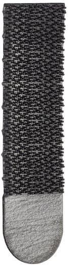 Tépőzár Felragasztáshoz Bolyhos és horgos fél (H x Sz) 70 mm x 18 mm, fekete 3M 17201BLK 4 pár
