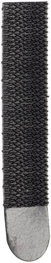 Tépőzár Felragasztáshoz Bolyhos és horgos fél (H x Sz) 93 mm x 18 mm, fekete 3M 4 pár