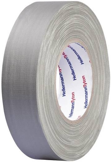 Téphető szövetbetétes ragasztószalag, gaffer tape 50 m x 19 mm, szürke színű HellermannTyton HelaTape