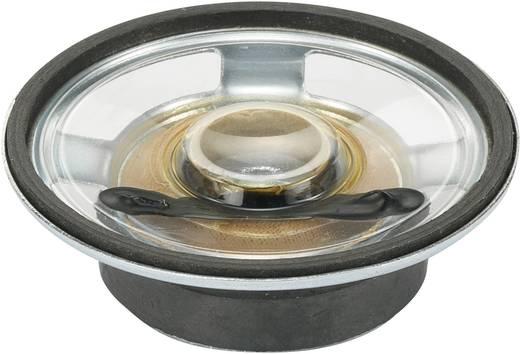 Miniatűr hangszóró, vízálló Hangerő: 84 dB 8 Ω Névleges terhelhetőség: 0.25 W 550 Hz Tartalom: 1 db