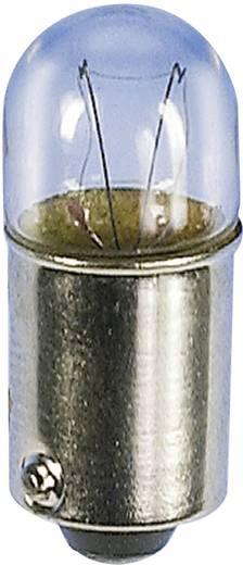 Kis csőizzó 24 V 1 W 40 mA, foglalat: BA9s, átlátszó, Barthelme, tartalom: 1 db