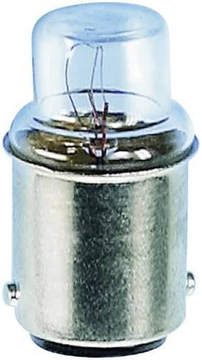 Cső izzó 24 V 3 W 125 mA, BA15d, átlátszó, Barthelme 00272403