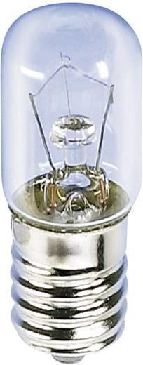 Cső izzó 60 V 10 W 166 mA, foglalat: E14, átlátszó, Barthelme, tartalom: 1 db