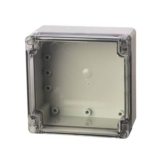 Univerzális műszerház Fibox PC 121211 polikarbonát (H x Sz x Ma) 120 x 122 x 105 mm, élénk szürke (RAL 7035)