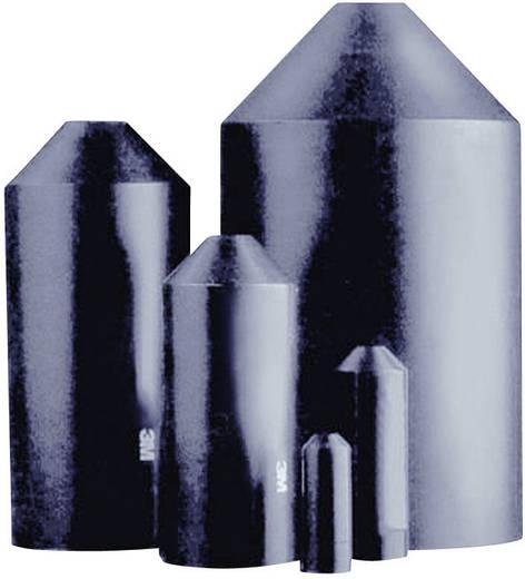Hőre zsugorodó végsapkák, SKEØ (zsugorodás előtt/után): 10 mm/4 mm, 1 db, fekete