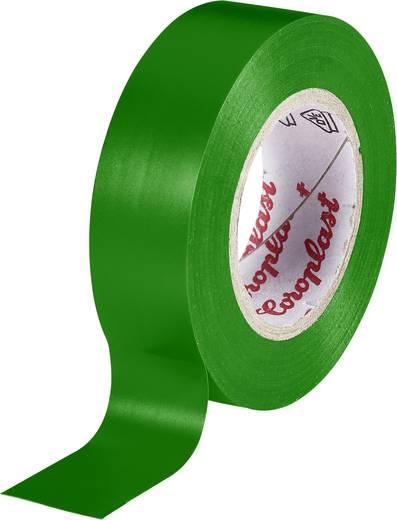 PVC elektromos szigetelő szalag (H x Sz) 10 m x 19 mm, zöld PVC 302 Coroplast, tartalom: 1 tekercs