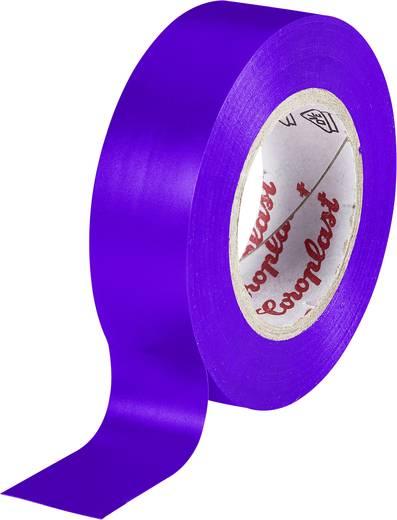 PVC elektromos szigetelő szalag (H x Sz) 10 m x 15 mm, lila PVC 302 Coroplast, tartalom: 1 tekercs