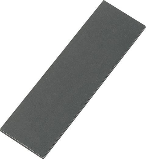 Mágneslap, fekete feliratozó felülettel (L x B) 67 mm x 20 mm fekete N35 Neodymium nikkelezett Conrad