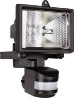 Halogén kültéri reflektor mozgásérzékelővel, R7s, 120 W, 230 V, IP44, fekete, ES120 (ES120) Smartwares