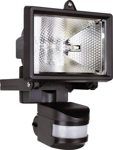 Halogén kültéri reflektor mozgásérzékelővel, R7s, 120 W, 230 V, IP44, fekete, ES120