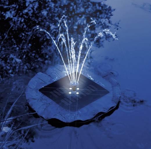 Úszó napelemes szökőkút szivattyú világítással, Solar Trend