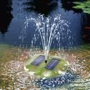 Úszó napelemes szökőkút szivattyú, Esotec Seerose Esotec