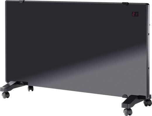 Üveg konvektor távirányítóval 750/1500W, fekete