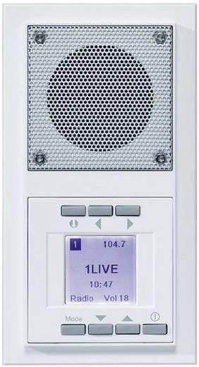 Falba süllyeszthető rádió, AURA design, fehér, PEHA by Honeywell 174713