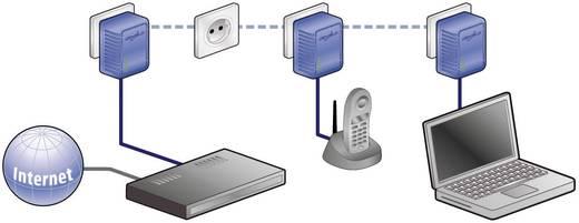 Hálózati elosztó túlfeszültség védelemmel 5 részes, antracit/szürke, 1,8 m, 13 kA, APC by Schneider Electric PL5B-DE