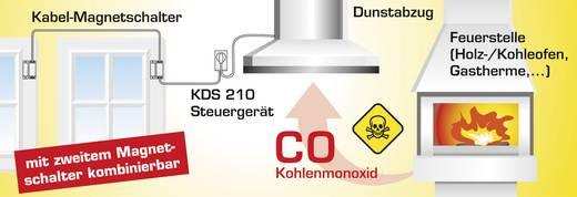 Vezetékes szellőztető rendszer vezérlés, KDS 210