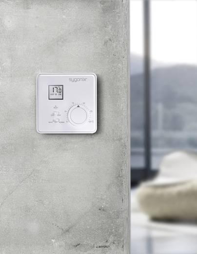 Szobatermosztát LCD kijelzővel 5 - 30 °C, Sygonix AP 33988Q