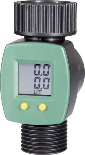 Víz átfolyásmérő, zöld/fekete