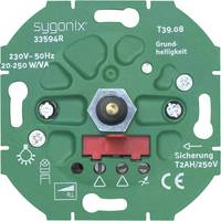 Fali dimmer betét LED-es lámpákhoz, 25-250 W, Sygonix SX.11 33594R (33594R) Sygonix