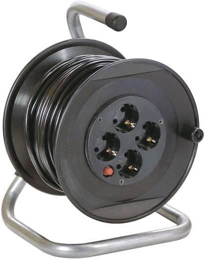 Feltekerhető 230V-os kábeldob 20m 4-es elosztóval AS Schwabe 11103
