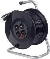 Feltekerhető 230V-os kábeldob 20m 4-es elosztóval AS Schwabe 11103 as - Schwabe