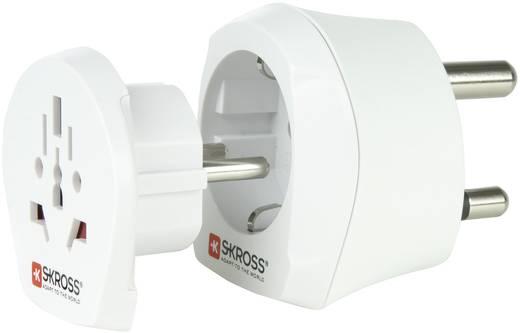 Úti adapter Dél-Afrika/univerzális aljzat, fehér, Skross 1.500202