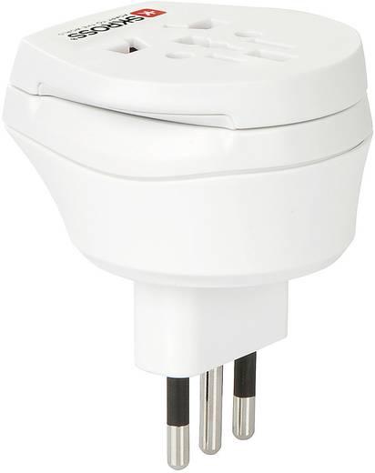 Úti adapter Olaszország/univerzális aljzat, fehér, Skross 1.500213