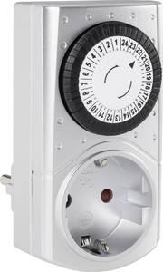 Mechanikus időkapcsoló óra, ezüst IP20 230V/50Hz GAO Mini 3680 GAO