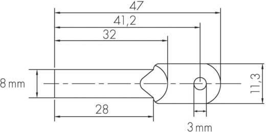 Hőmérséklet érzékelő, fém, H-Tronic