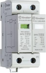 Finder 7P1282751012 7P.12.8.275.1012 Túlfeszültségvédő-levezető Túlfeszültség elleni védelem: Elosztószekrény 30 kA Finder
