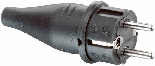 Szerelhető hálózati dugó, gumi, 230 V, fekete, IP44, ABL Sursum 1419190