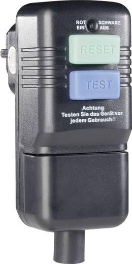 Személyvédős dugó, 230V IP40, fekete